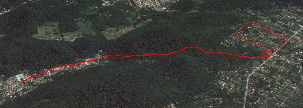 Percurso Trail Running 9K