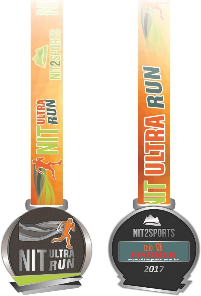 Medalha Finisher NIT ULTRA RUN
